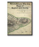 The Revolutionary War Map Collection 6 Cd Set 366 Maps - B59-69