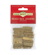 Bachmann Trk Brass Rail Joiners 24/bag Out.andin, Bac94657