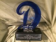 Ralph Kiner Spectacular 1997 Trophy From Don Drysdale Hall Of Fame Golf Classic