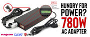 780w Laptop Ac Adapter For Msi Gaming Laptopswith Round 4pin Dc Cable Included