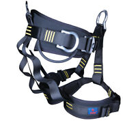 Mountain Rock Climbing Harness Safety Belt Rigging Fall Protection Equipment