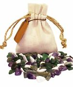 Sleep Insomnia Power Pouch Healing Crystals Stones Set Tumbled Natural Gemstone