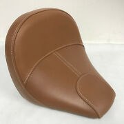 Nice Used Indian Motorcycle Tan Solo Seat For 2017-2018 Scout 1200 Models - Sale
