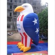 Patriotic Advertisement Decoration Promotion With Blower Inflatable Eagle 26f By