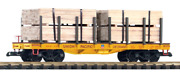 Piko G Scale Trains 38757 Union Pacific Flat Car With Lumber Load Road No 210406