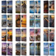 Celebrate Life Gallery Beaches 2 Leather Book Case For Apple Iphone Phones