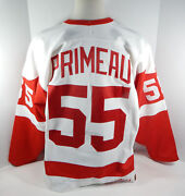 1994-95 Detroit Red Wings Keith Primeau 55 Game Used White Jersey