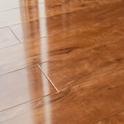 12mm Laminate Flooring Lesscare Toffee Cherry High Glossy Finish