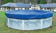Yard Guard Skirted Blue/black Round Swimming Pool Winter Cover Multiple Sizes