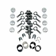 New Forged Scat Rotating Assembly I-beam Rods Fits Ford 351 Main 393 1-94256
