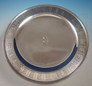 Palmette By And Co. Sterling Silver Pedestal Serving Plate 12 2875