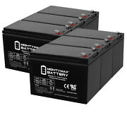 Mighty Max 12v 7ah Battery Replacement For Humminbird Fishfinder 570 - 6 Pack