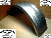 Universal 9 Bobbed Tail Rear Fender Raw Fits Harley Chopper Project