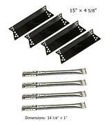 Bbq Gas Grill Replacement Burner And Heat Plate For Nexgrill 720-0783, 720-0773