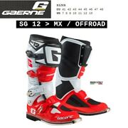 Boots Enduro Cross Motorcycle Gaerne Sg 12 Mx Offroad Red 2174053