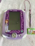 Sofia The First Leapfrog Leappad 2 Explorer Learning Game System/console Purple
