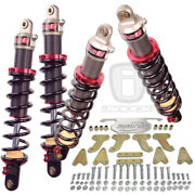 Elka Stage 2 Shocks High Lifter 4 Lift Kit Polaris Ranger 1000xp Crew And03917-and03918