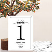 Wedding Place Card Name Card Paper Table Number Home Party Christmas Decorations