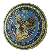U.s. United States | Department Of Veterans Affairs | Gold Plated Challenge Coin