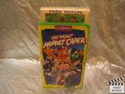 The Great Muppet Caper Vhs Animated Large Case New With Watch