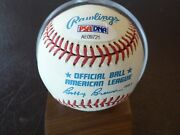 Psa/dna Nm-mt8 Mantle Mays Snider Theme Ball W/players Likely 1 Of A Kind Hof
