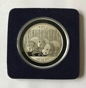 2013 1 Oz Silver Chinese Panda Coin Brilliant Uncirculated
