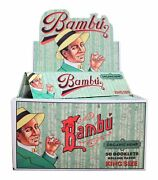 Bambu Organic Hemp King Size 50 Pack Rolling Papers Brand New And Factory Sealed