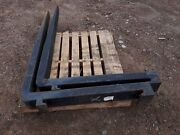 Hewit Lift Forks 5 Fo0t Long X 6 Inches Wide X 3 Inches Of Thick