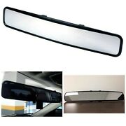Clip-on Rear View Mirror Wide Angle Fit System Universal Replacement Mirror