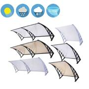 40x120/80/40/32door Window Outdoor Awning Pc Hollow Sheet Shade Cover Canopy