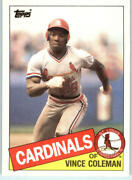 1985 Topps Traded Baseball - Pick A Player
