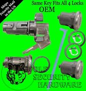Gm Ignition And Door Lock Key Cylinder Pair And Trunk Lock Keyed Alike 2 Gm Keys