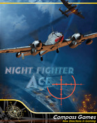Compass Games Nightfighter Ace Air Defense Over Germany 1943-44 Nisw