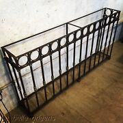 Stunning Late 19thc Wrought Iron Wall Console Table. 6ft Long. Must See L@@k