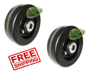 2 6 Deck Wheels For New Holland 914a 60side Discharge Mid-mount 83970390