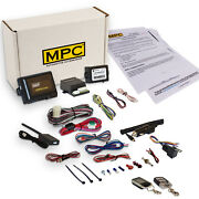 2-way Lcd Remote Start Kit With Keyless Entry For 2001-2007 Mazda Tribute