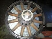Vintage Buick Wood Rim Hubcap And Bearing 1929 To 1934