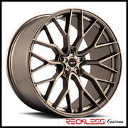 Savini 20 Svf-02 Matte Bronze Concave Wheel Rims Fits Ford Mustang Gt Gt500