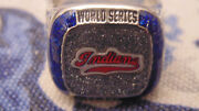 2018 Cleveland Indians 1948 Commemorative Coors Light World Series Ring