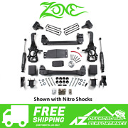 Zone Offroad 4 Suspension System Lift Kit 15-16 Ford F150 4wd F47n