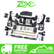 Zone Offroad 4 Suspension System Lift Kit 2014 Ford F150 4wd F41n