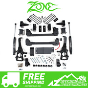 Zone Offroad 6 Suspension System Lift Kit For 15-20 Ford F150 Truck 4wd F53n