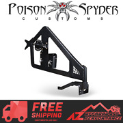 Poison Spyder Hd Frame Mounted Spare Tire Carrier For 18-21 Jeep Wrangler Jl