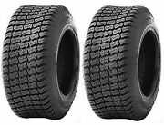 Two 16x6.50-8 16x650-8 16/6.50-8 D838 Lawn Mower Turf Tires 4ply Rated