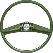 Oer Reproduction Green Steering Wheel 1969-1972 Chevrolet And Gmc Pickup Truck