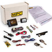 Complete 2 Way Lcd Remote Start/keyless Entry Kit For 1999-2000 Ford Windstar