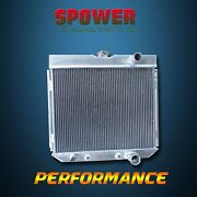 3-row/core Aluminum Radiator For Ford Mustang 67-69 Mercury Cougar V8 67-70