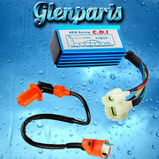 Ignition Coil And Performance Racing Cdi Box For 50cc-250cc Atv Bikes Go Karts Gy6