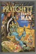 Reaper Man By Terry Pratchett First Edition Publisherand039s File Copy