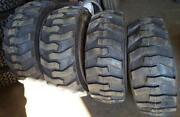 4- Tires With Wheels John Deere Model Skid-steer With Tire Size 14-17.5 14175